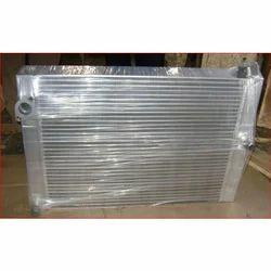 Steel Compressor Oil Cooler, Air Cooled
