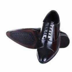 Male Lace Up Mens Leather Formal Shoes, Packaging Type: Box