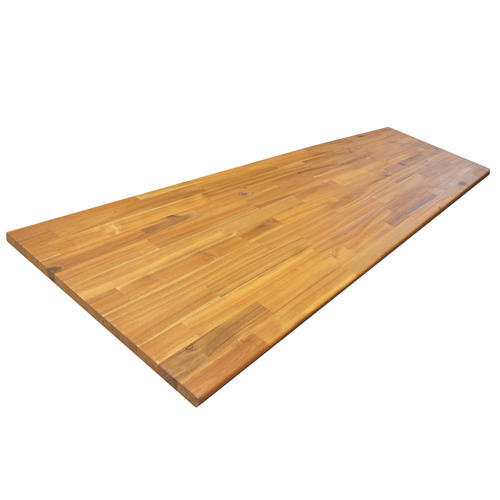 Natural Wood Rubber Wood Board Size 8 X 4 Thickness