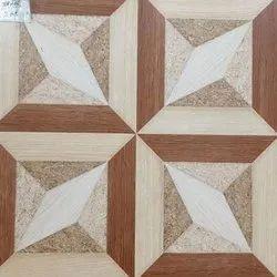 Square Matt Finish Ceramic Floor Tile, Thickness: 9-10 Mm, Packaging Type: Box
