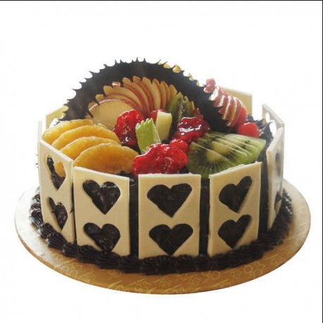Outstanding Exotic Chocolate Fruit Cake At Rs 1199 Piece Laxmi Nagar New Personalised Birthday Cards Akebfashionlily Jamesorg