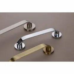 White Metal Door Pull Handles