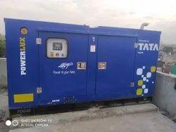 100 kVA Tata Powerlux Silent Diesel Generator