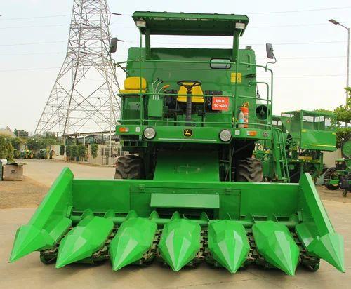 John Deere Combine >> Maize Combine Harvester John Deere W50 ज न ड यर