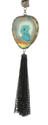 17 9 Semi Precious Agate Stone Necklace