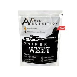 2 Lbs Arms Nutrition Sniper Whey Protein, Packaging Type: Pouch