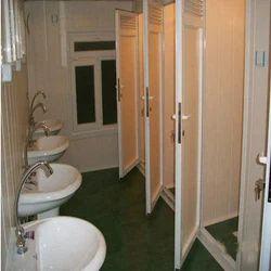 Mild Steel Cabin Toilets