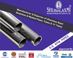 Stainless Steel EFW Pipe