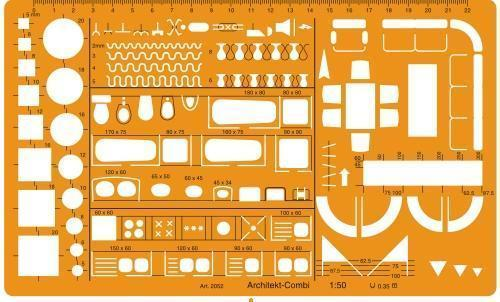 Drawing Instruments - Technical Drawing Templates