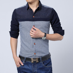 Cotton Casual Wear Mens Designer Casual Shirt