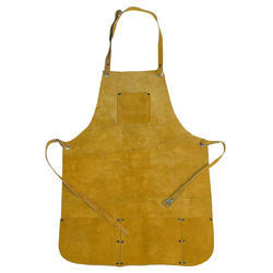 Plain Yellow Welding Leather Apron