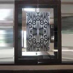 Decorative Lacquered Glass