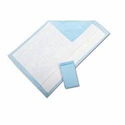 Blue Disposable Underpads, Size: Large