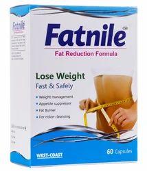 Capsule Fatnile (Fat Reduction Formula), Packaging Size: 60 Capsules