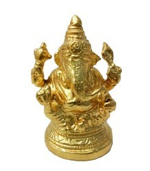Gold Ganeshji