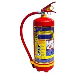 Mild Steel A B C Dry Powder Type Dry Powder Fire Extinguisher, Capacity: 10 Kg