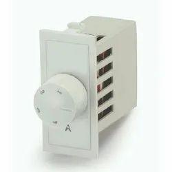 White Plastic Fan Regulator, Control, 110-240 V