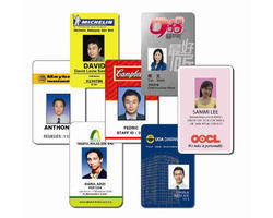 Black , Green Plastic, PVC ID Cards Printing Services