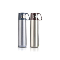 Black & Brown PNP Travel Flask