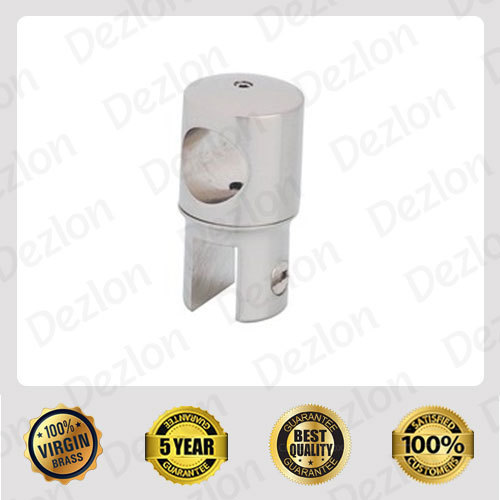 Dezlon Brass Shower Header Clamp Pipe To Glass