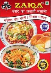 Zaiqs Red Sev Bhaji Masala, Packaging Size: 40.gm