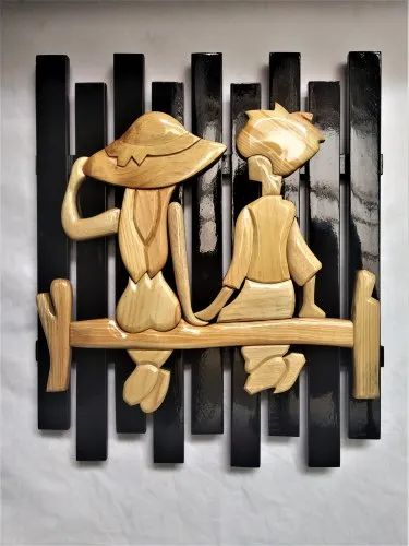Wood Handmade Wooden Wall Art Rs 800 Unit Toppo And Christensen Trading Private Limited Id 21812508748