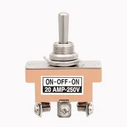 20 Amp DPDT Toggle Switch