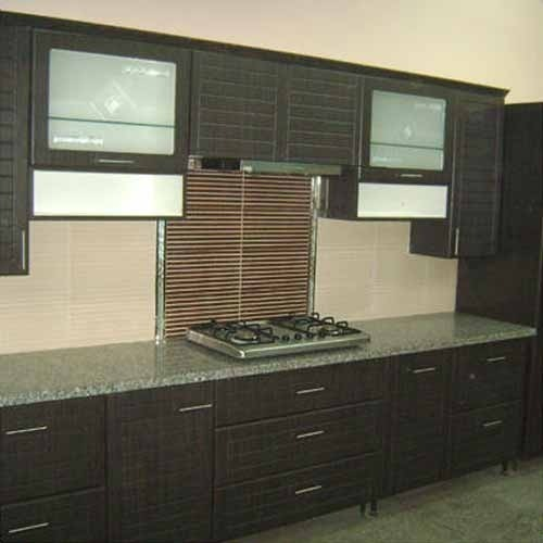 Small Straight Kitchen Design. Straight Line Modular Kitchen at Rs 1250  square feet Modern