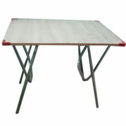 SS Folding Restaurant Table