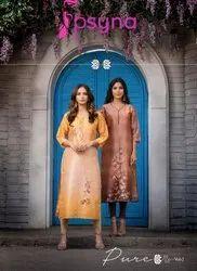 PSYNA Presenting Pure Vol 2 Festive Wear Designer Latest Kurtis, Age Group: 15 - 30