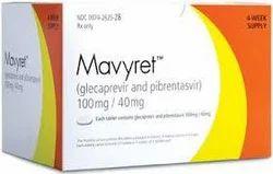 Mavyret Glecaprevir And Pibrentasvir (100mg / 40mg)