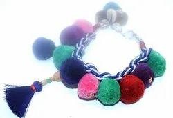 Polyester Pom Pom Jewelry