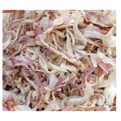 Dehydrated White and Red Onion Minced