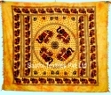 100% Pure Cotton Square Wall Tapestries