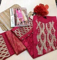 Suits Salwar Embroidery Ladies Suit