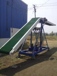 Two Stage Truck Loading Conveyor