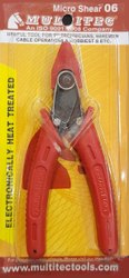 Multitec Alloy Mutitec Micro Shear Cutter 06, For Cut Wires From 0.8mm To 1.4mm, Size: 5 Inch