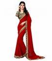 Women's Chiffon Saree With Blouse Piece