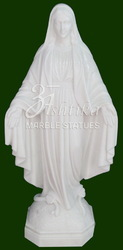 Marble Mother Merry Statue