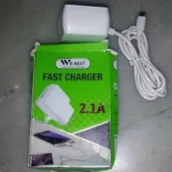 White We-Next 2.1 A Mobile Fast Charger, for Mobile Charging