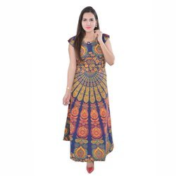 Badmari Print Long Skirts