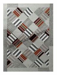 Rectangle Woven Cotton Patchwork Carpet