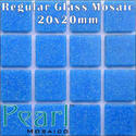 Regular Glass Mosaic 20x20 Cm Tiles, Size: Small