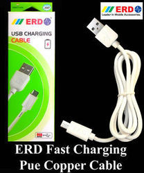 White IPhone USB Cable 2 Meter