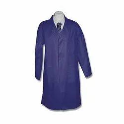 Blue Cotton School Lab Coat