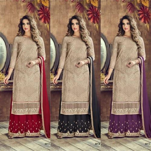 e99c7a18a1 Party Wear Pakistani Suit, Rs 1995 /per piece, F3Fashion | ID ...
