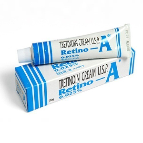 Retino A 0.025 Cream, Packaging Size: 20g, Packaging Type: Tube, Rs 166  /piece | ID: 20074466773