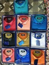 Plain Cotton Mens Shirt