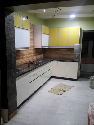 Multi Color Alumino Kitchen Cabinet Rs 99000 Piece Venus Kitchen Id 19464552530