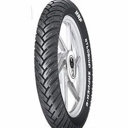 Black Motorcycle Tyres
